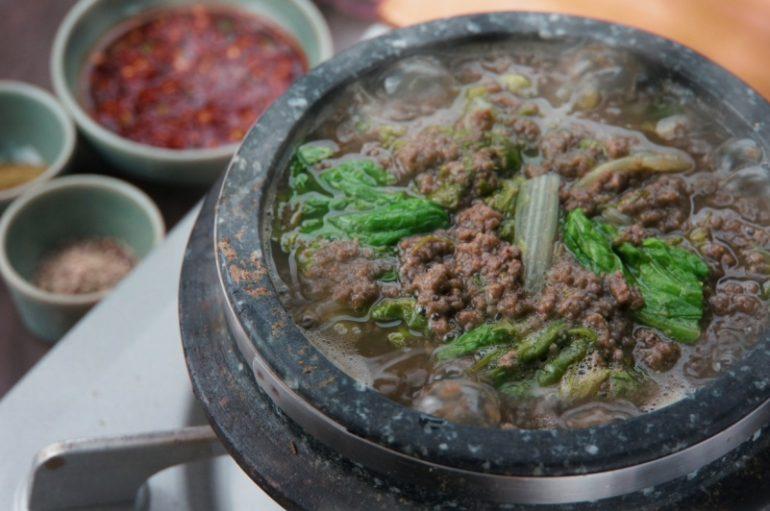 チュオタン(どじょうスープ)