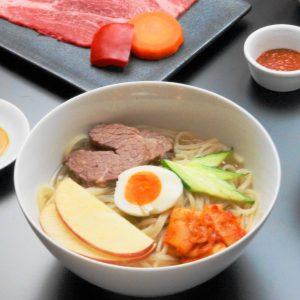 冷麺ランチ アップ